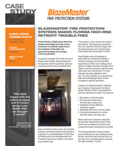 Fire Sprinklers Archives - Fire Protection Florida - Sprinklermatic