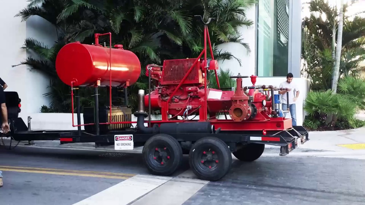 Fire Pump for rent