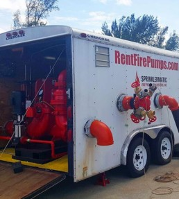 Rent Fire Pump