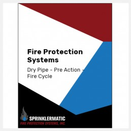 Fire Protection System Dry Pipe, Preaction, Firecycle