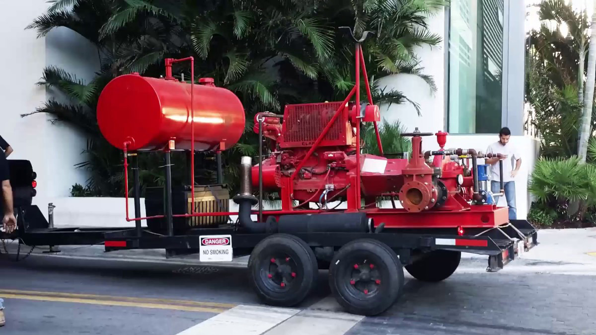 Sprinklermatic Temporary Fire pumps | Rent Fire Pumps